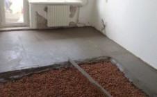 Как правильно сделать стяжку под теплый пол
